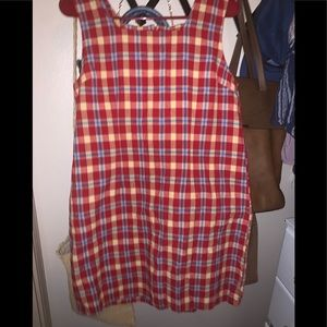 Authentic Vintage Faded Glory Plaid Dress